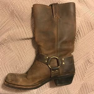 Frye Boots. Size 8 in Smoke Brown.